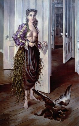 Dorothea Tanning, Birthday, 1942, Philadelphia Museum of Art. © DACS, 2018 (750x1200)