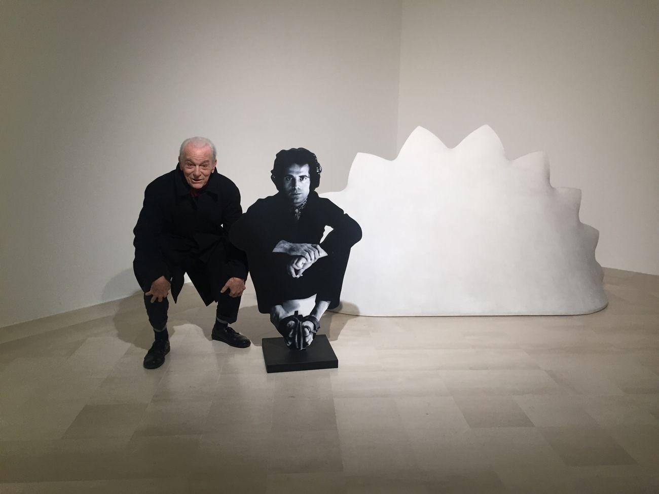 Fabio Sargentini alla Fondazione Pascali, Polignano a Mare 2019. Photo Lorenzo Madaro