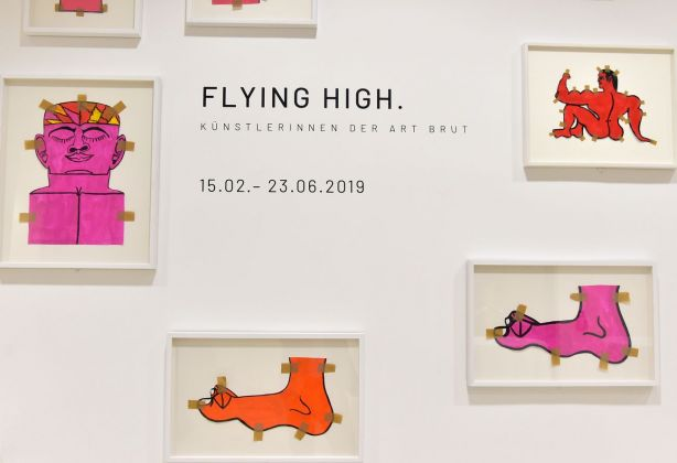 Flying High. Exhibition view at Bank Austria Kunstforum, Vienna 2019. Photo © Christian Jobst