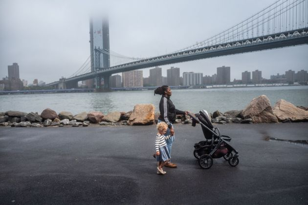 Francesca Magnani, Nanny with Child, Brooklyn 2018