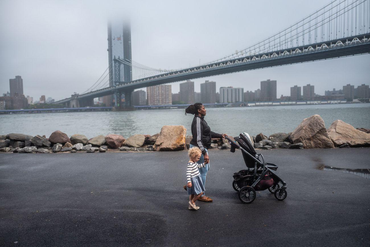 Francesca Magnani, Nanny with Child, Brooklyn 2018