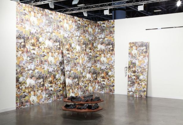 Francesco Simeti, Morass, 2013. Installation view at Art Basel Miami Beach. Courtesy l'artista & Francesca Minini, Milano. Photo Sebastiano Pellion