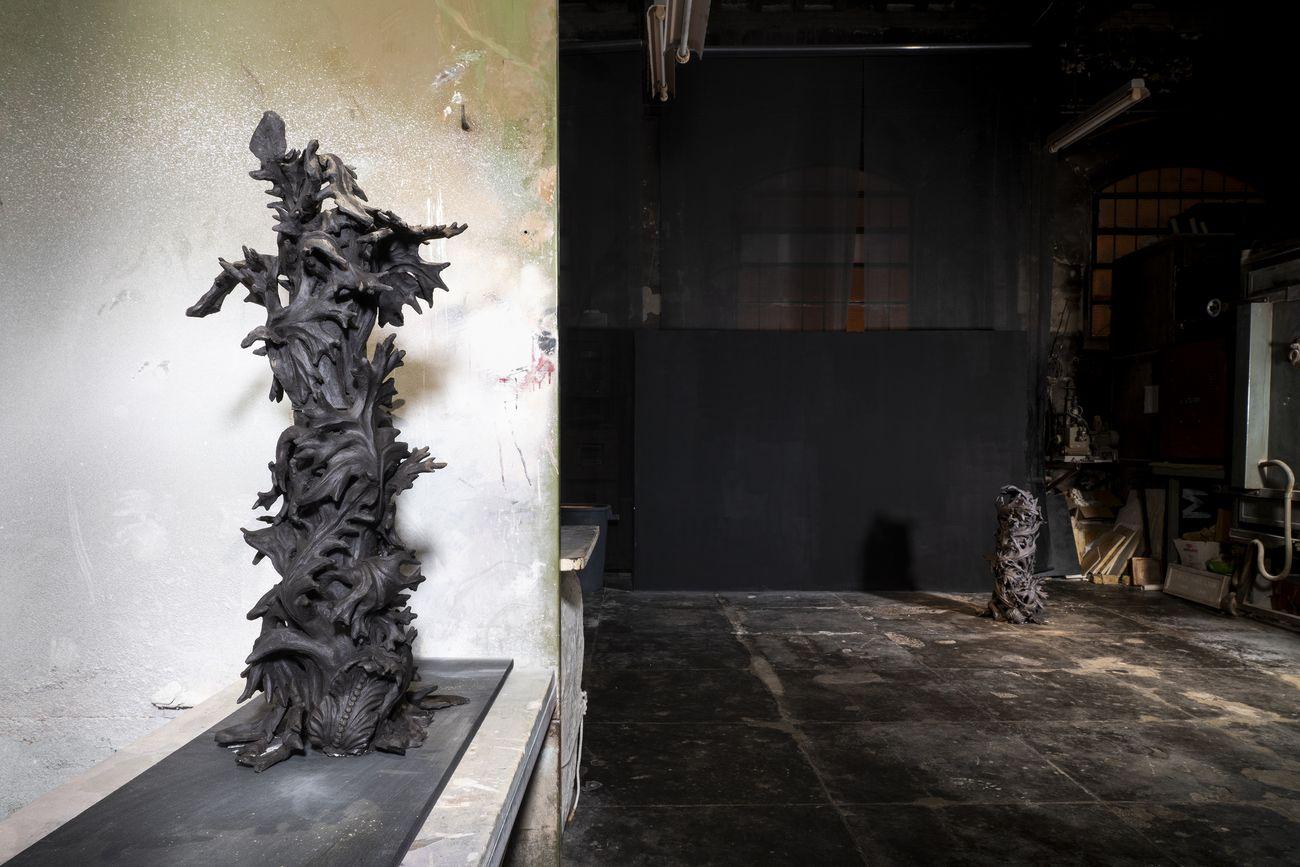 Francesco Simeti, Uncinata, 2018. Courtesy l'artista & Museo Carlo Zauli. Photo Andrea Piffari