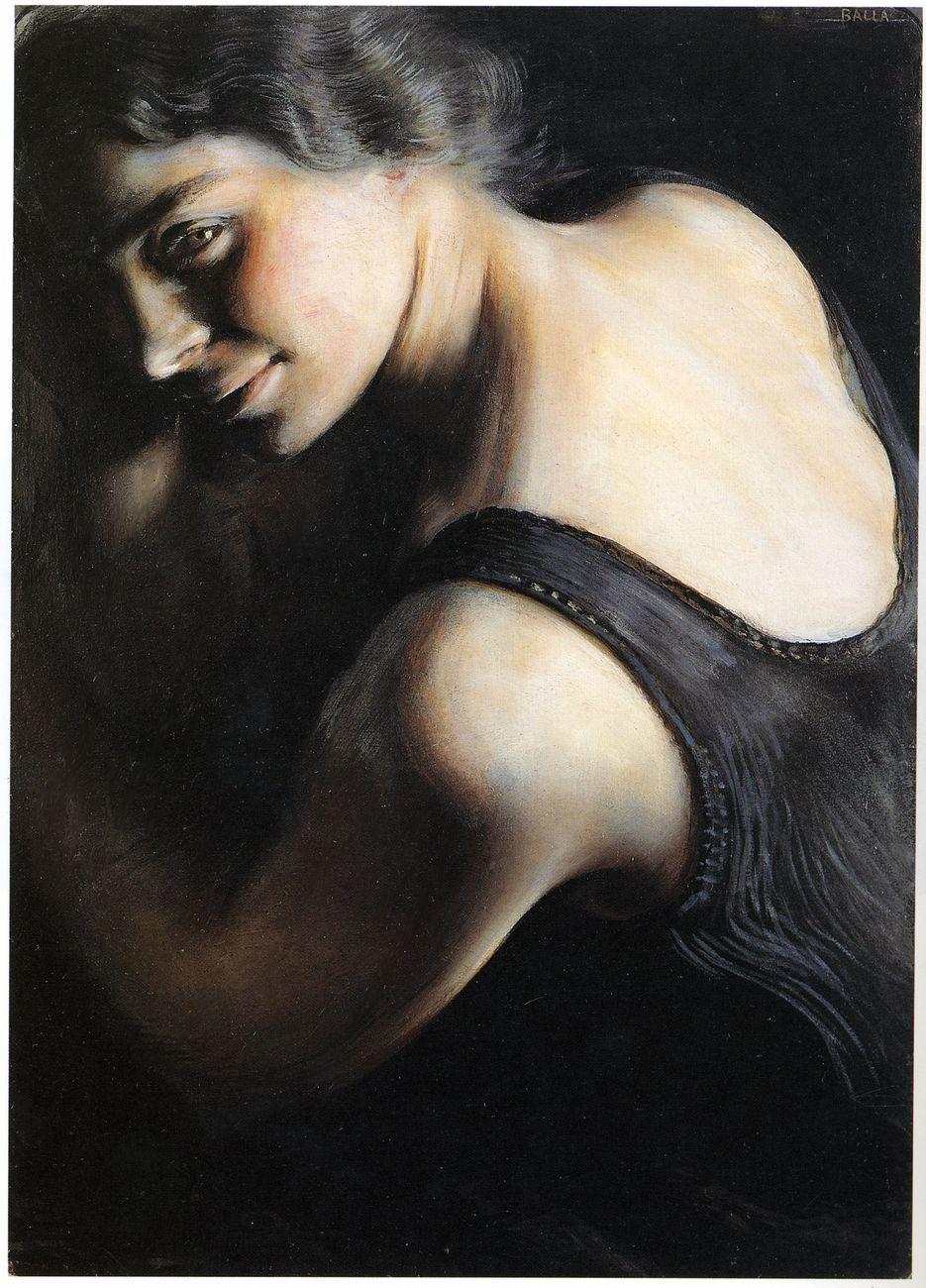 Giacomo Balla, Il dubbio, 1907-1908. Roma, Galleria d'Arte Moderna