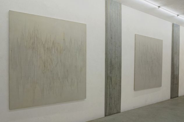 Giulio Saverio Rossi, Ogni cosa rappresa, 2018. Installation view at CAR DRDE, Bologna