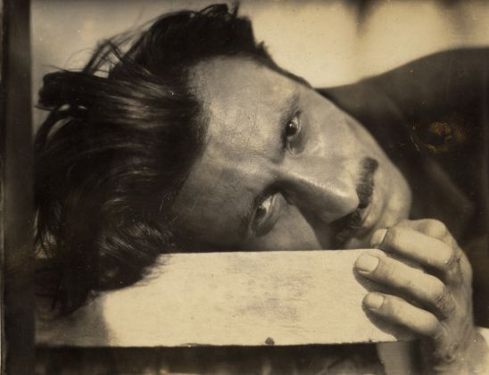 Gorky, late 1920s. Unknown photographer courtesy The Arshile Gorky Foundation