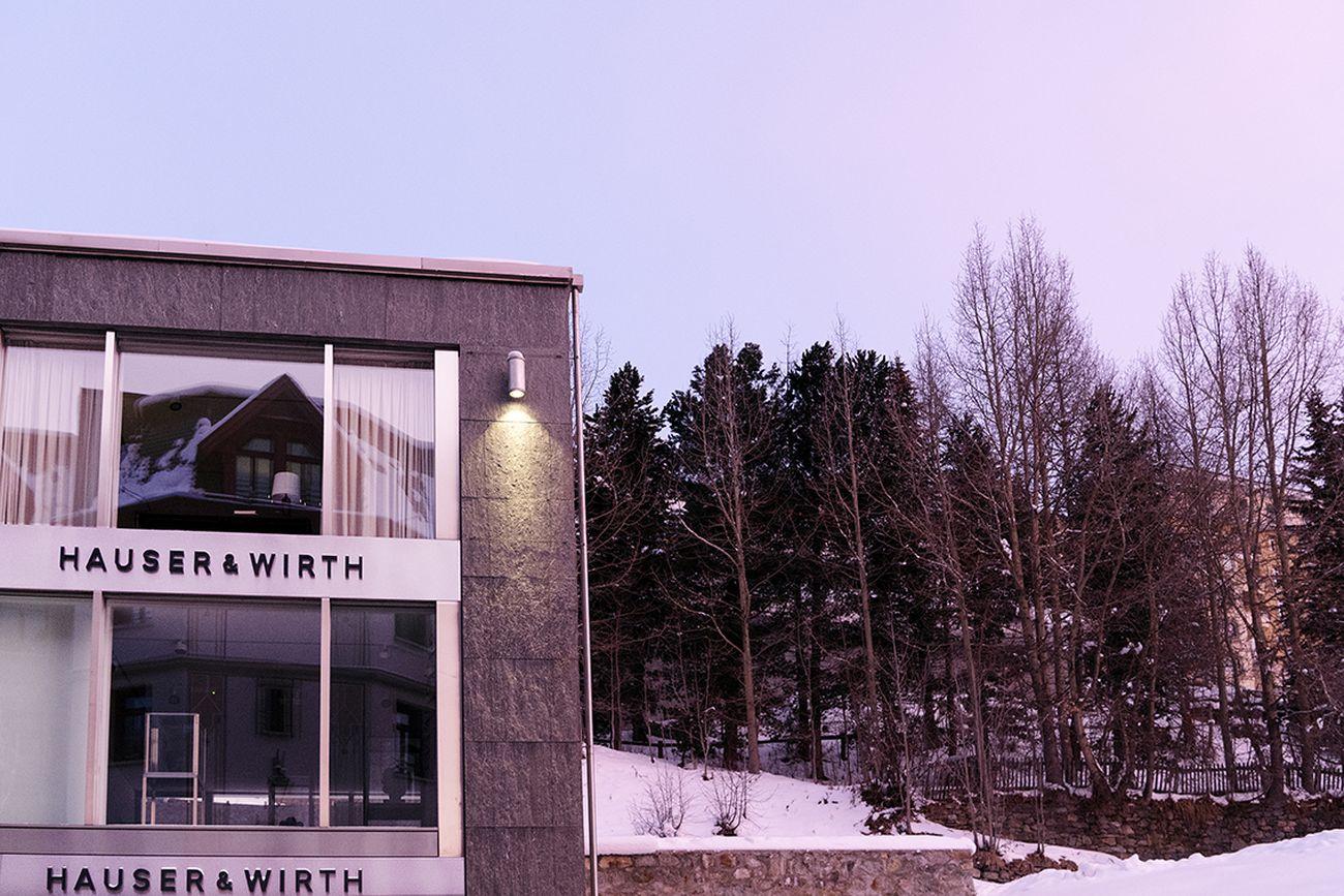 Hauser & Wirth, St. Moritz. Courtesy Hauser & Wirth. Photo Katharina Lütscher