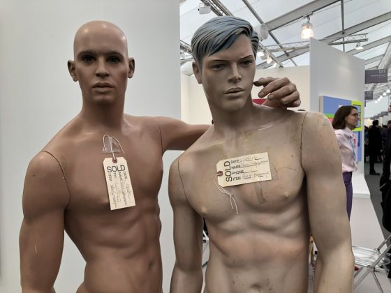 Lutz Bacher, Boyfriends, Frieze Los Angeles 2019