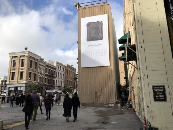 Ingresso al Backlot degli Studios di Paramount, Frieze Los Angeles, 2019