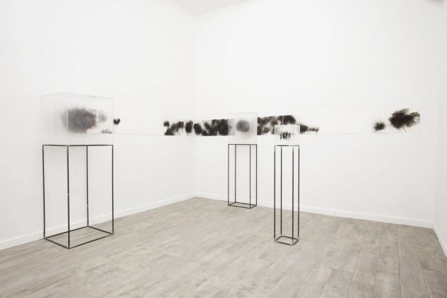 Isabel Alonso Vega. Senza Fuoco. Installation view at White Noise Gallery, Roma 2019
