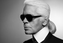 K. Lagerfeld, autoritratto © Photography by Karl Lagerfeld
