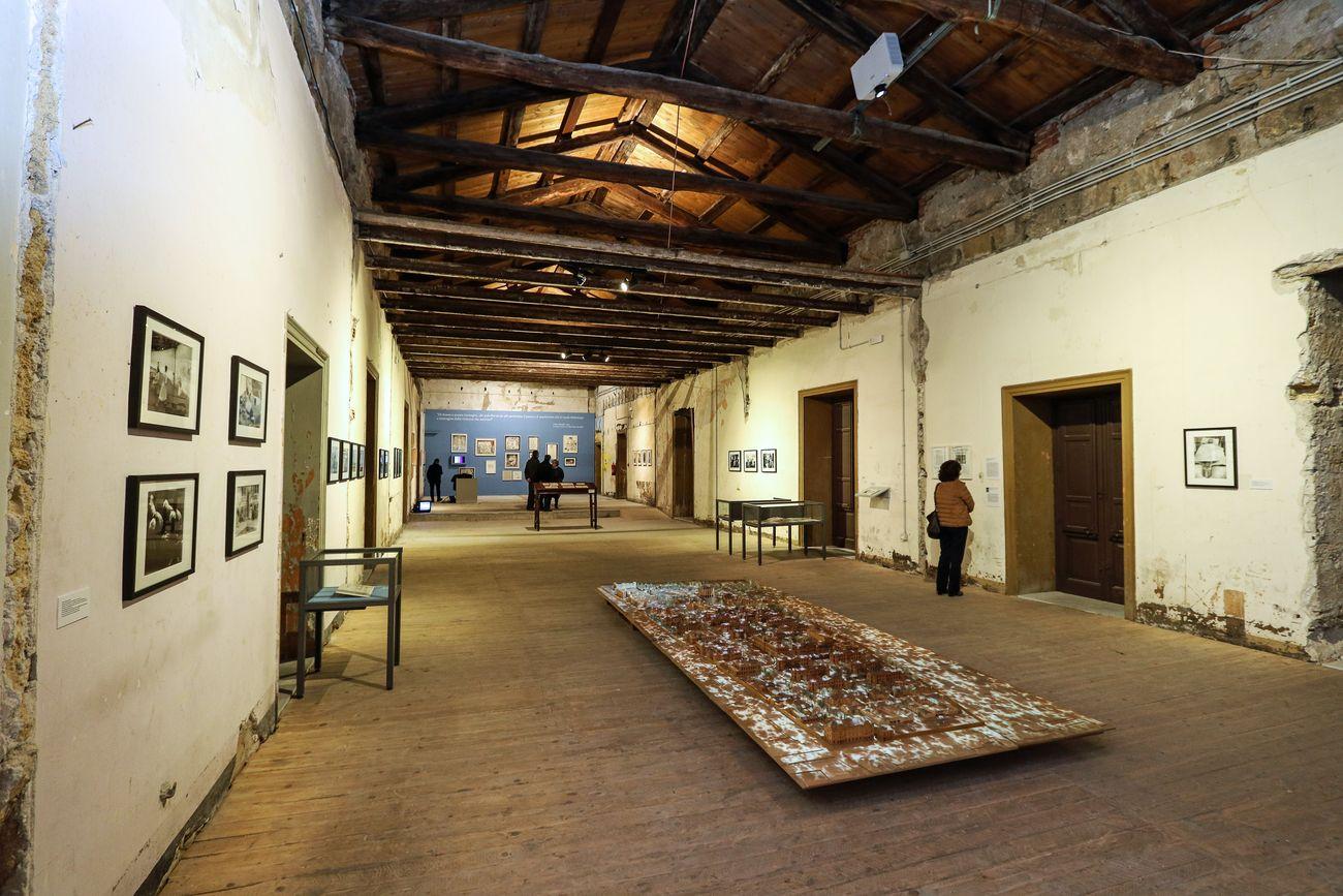 La condizione umana. Oltre l'istituzione totale. Exhibition view at Palazzo Ajutamicristo, Palermo 2018-19