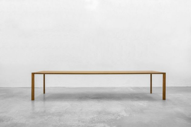 Luca Cipelletti, Rectangular Table. Courtesy Giustini Stagetti, Roma. Photo Henrik Blomqvist