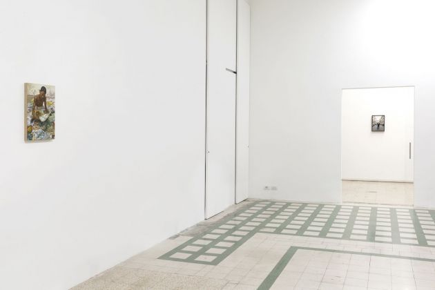 Marcello Maloberti. Sbandata. Installation view at Galleria Raffaella Cortese, Milano 2019. Photo Lorenzo Palmieri