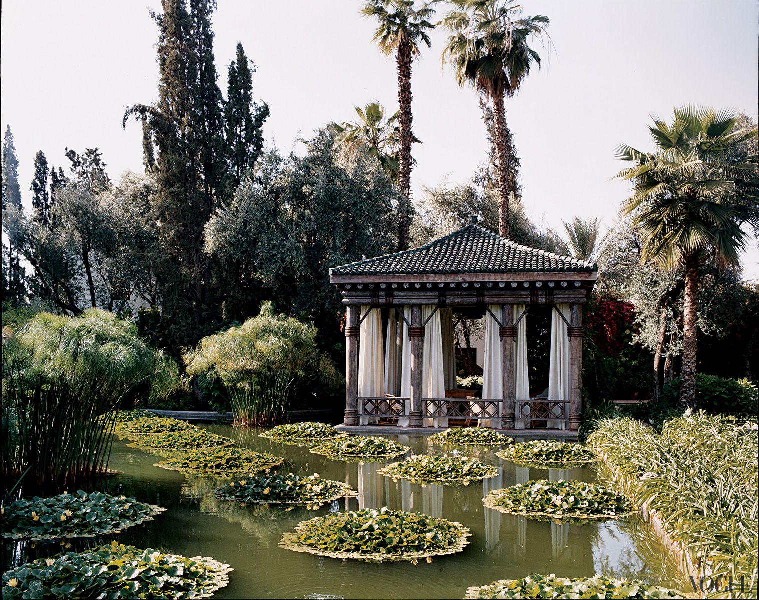 Villa Agnelli, garden house, Marrakech