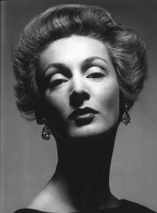Marella Agnelli, photo by Blumenfeld
