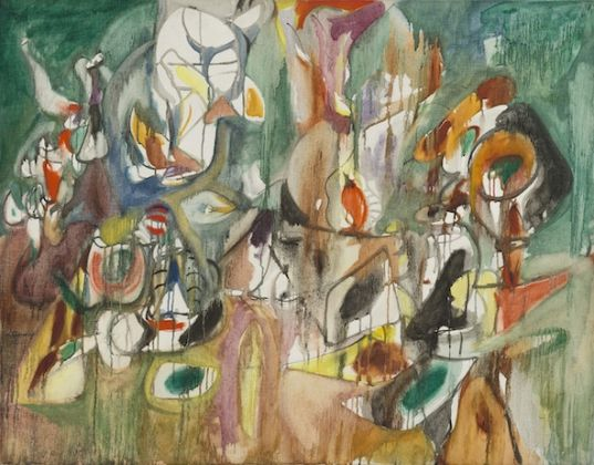 One Year the Milkweed, 1944, National Gallery of Art, Washington, D.C. Ailsa Mellon Bruce Fund © 2018 The Estate of Arshile Gorky Artists Rights Society (ARS), New York