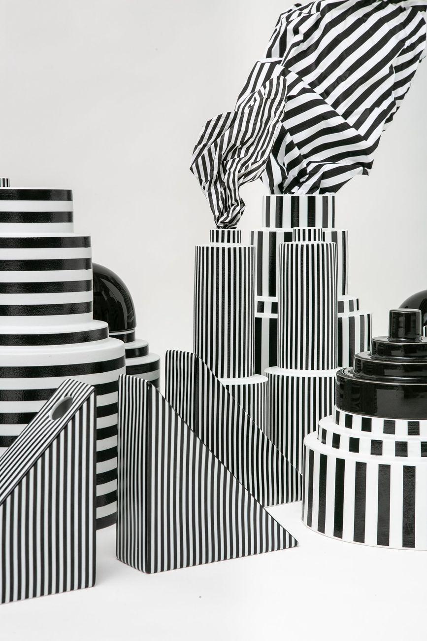 Open to Art 2019. Romina Gris Ormo, Skyline Stripes