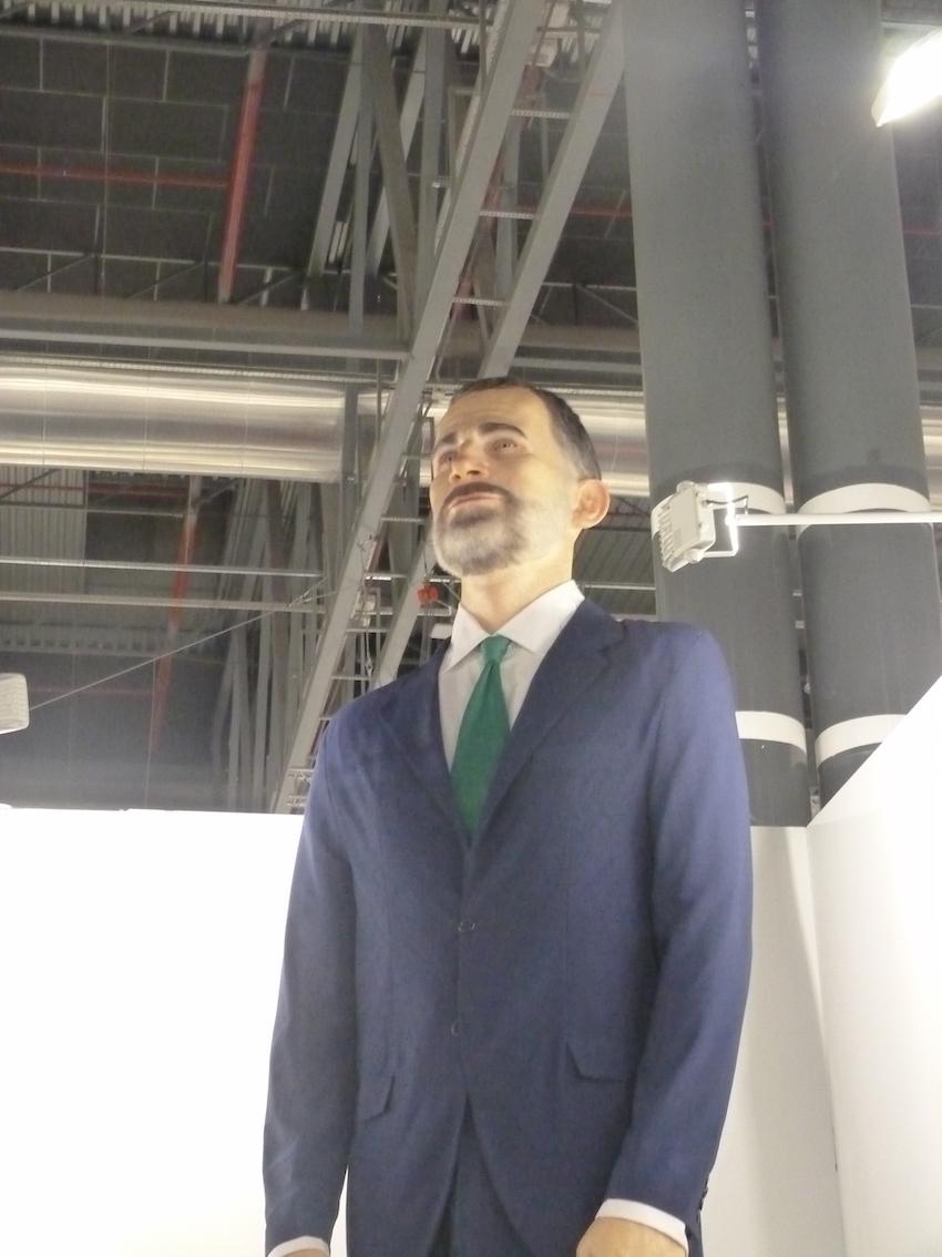 Santiago Sierra - Eugenio Merino, Ninot. ARCOmadrid 2019