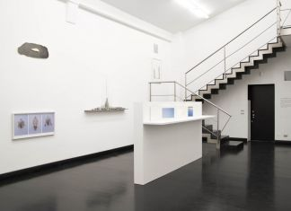 Pedro Terán, L'Emigrante di Manoa. Installation view at FL Gallery, Milano 2019. Photo Violante Passadore