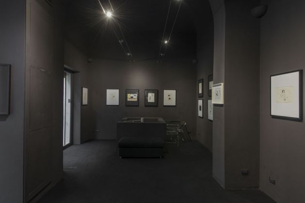 Pino Pascali. Vita, morte, miracoli e seduzione. Installation view at Bibo's Place, Roma 2019. Photo Giorgio Benni
