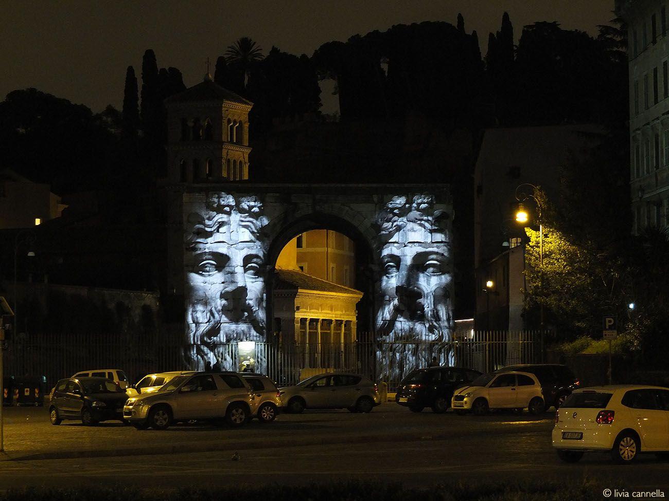 Popvlvs. Arco di Giano, Roma 2015. Ideazione e realizzazione di Livia Cannella