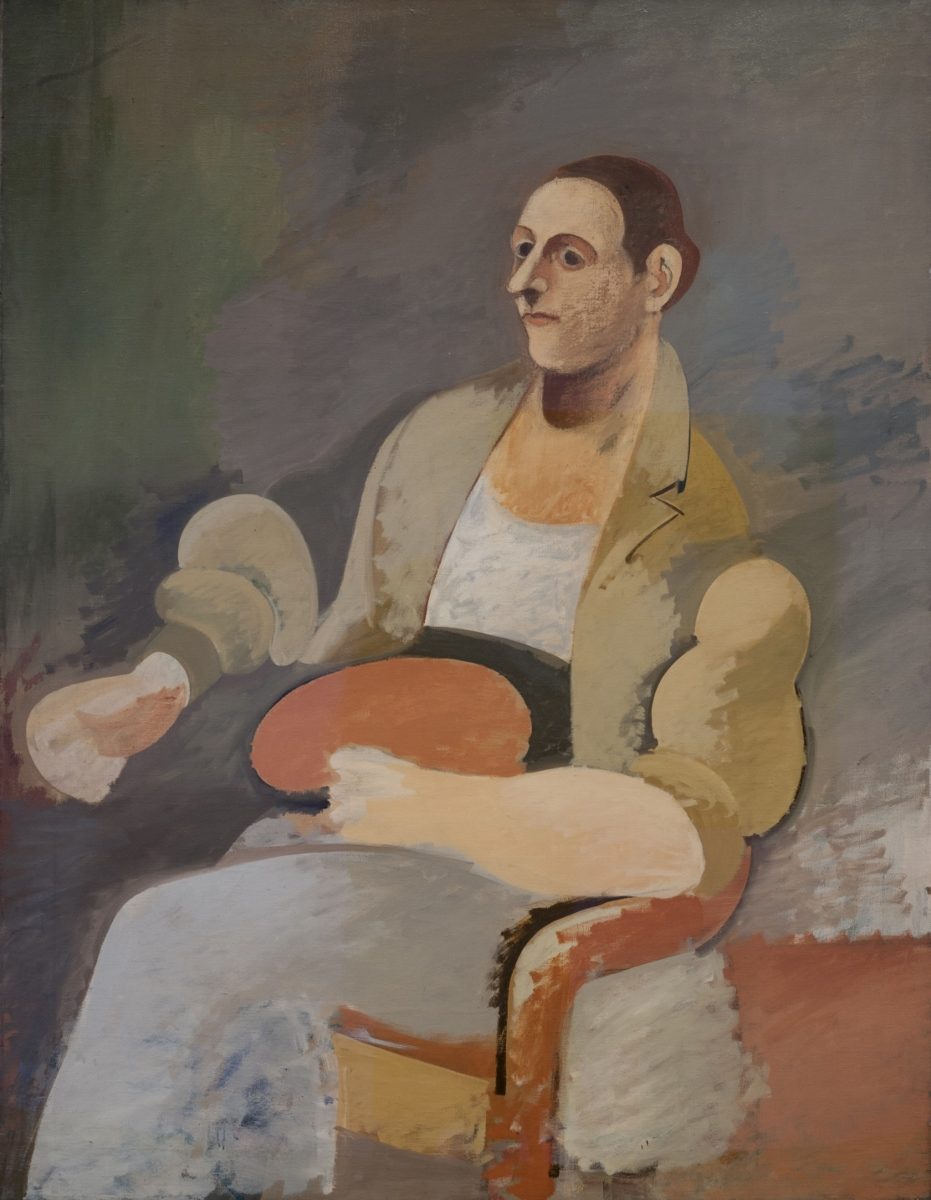 Arshile Gorky, Portrait of Master Bill, 1937 ca. © 2018 The Arshile Gorky Foundation Artists Rights Society (ARS), New York
