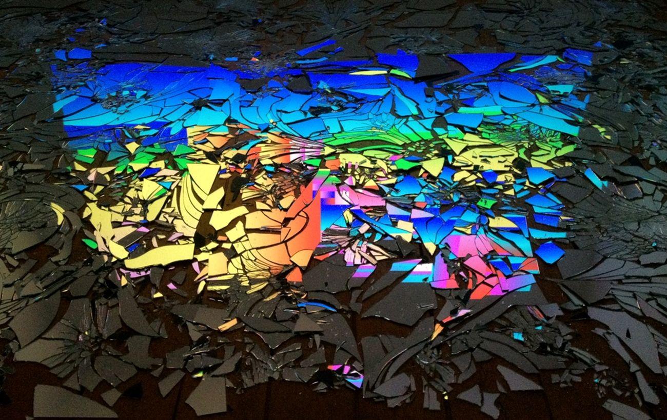 Rafaël Rozendaal, Random Fear (with Mirrors), 2019, particolare. Collection Rattan Chadha. Photo Rafaël Rozendaal