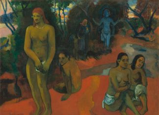 Paul Gauguin, Te Pape Nave Nave (Delectable Waters) 1898