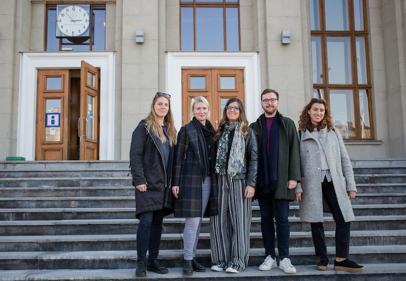 Team of 12th Kaunas Biennial curators photo by G Zaltauskaite