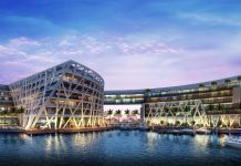 The Abu Dhabi EDITION Exterior. Courtesy of EDITION Hotels
