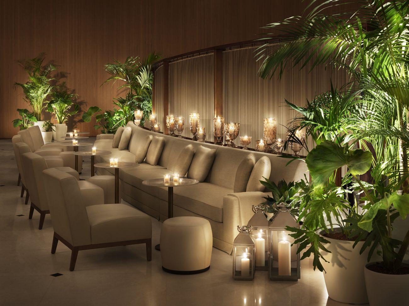 The Abu Dhabi EDITION Lobby. Courtesy of EDITION Hotels