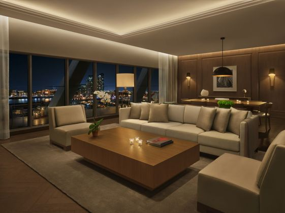 The Abu Dhabi EDITION Royal Penthouse. Courtesy of EDITION Hotels