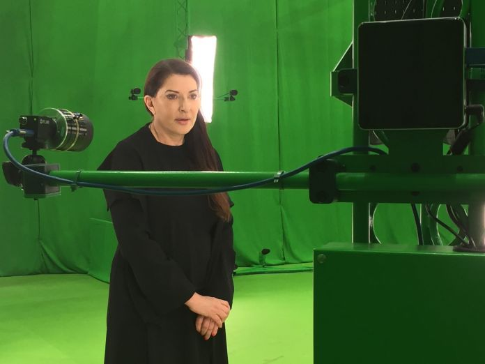 Marina Abramović - The Life. Image courtesy of Marina Abramović and Tin Drum