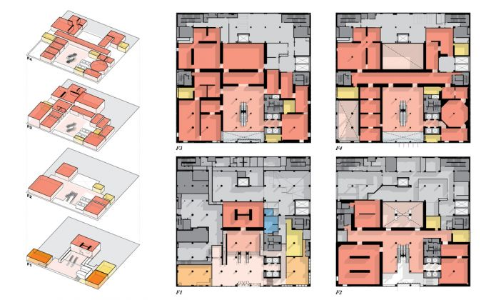 Sotheby's NY, Floor Plans. Credit OMA New York