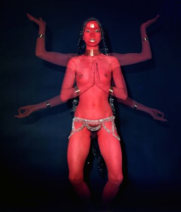 8. Penny SLINGER Penny as Red Dakini Photo by Mayotte Magnus, 1977 © The Artist; Courtesy Richard Saltoun Gallery, London