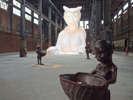 A Subtlety, or the Marvelous Sugar Baby, 2014. Photo Jason Wyche © Kara Walker