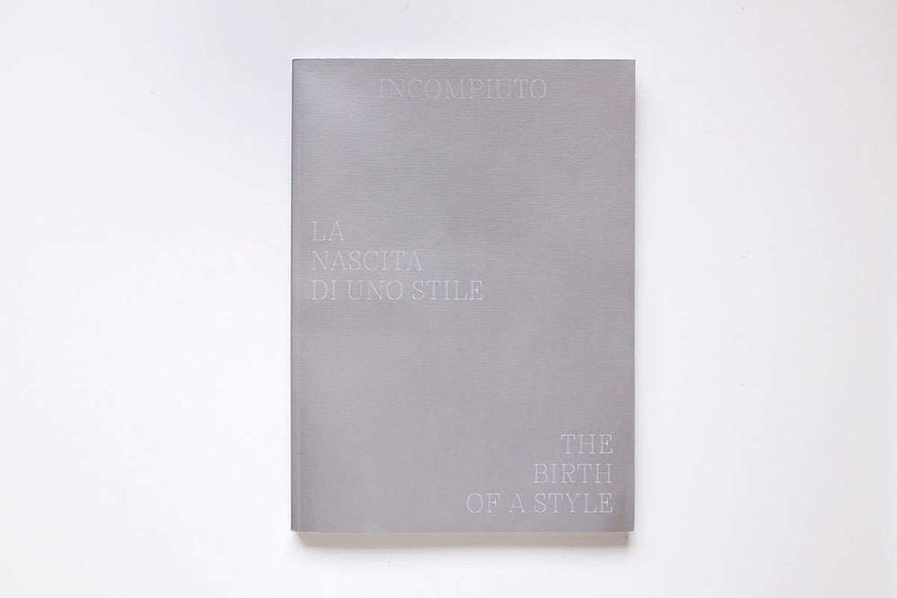 Alterazioni Video & Fosbury Architecture ‒ Incompiuto. La nascita di uno stile (Humboldt Books, Milano 2018)