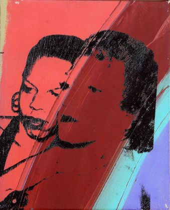 Andy Warhol, Ladies and Gentlemen, 1975, acrilico su tela, 35.2x28 cm. Courtesy The Andy Warhol Art Works Foundation for the Visual Arts