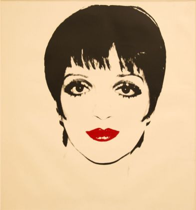 Andy Warhol, Liza Minelli, 1978, screenprint on paper, 121.9x111.7 cm. Courtesy The Andy Warhol Art Works Foundation for the Visual Arts