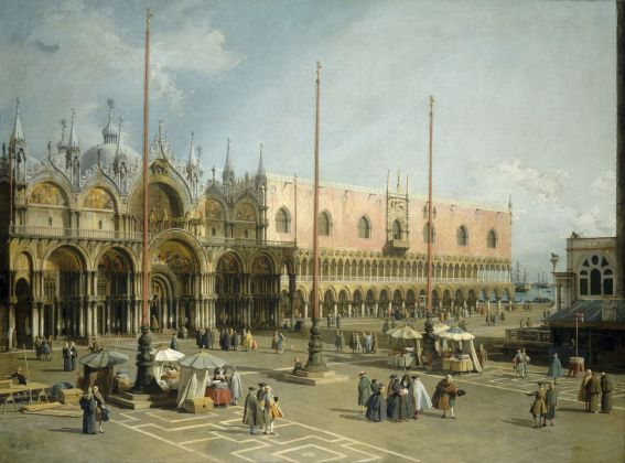 Antonio Canal detto Canaletto, Piazza San Marco verso est, olio su tela, cm 115 x 153. Washington, National Gallery of Art