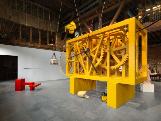 Atelier Van Lieshout, Pendulum, 2019. Installation view at Pioneer Works, New York 2019. Photo © Dan Bradica