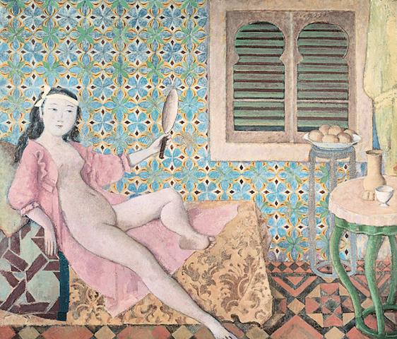 Balthus, La habitacion turca 1965 66, Centre Pompidou, credits Balthus 2019
