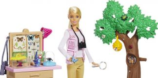 Mattel e National Geographic, le Barbie scienziate: l'entomologa