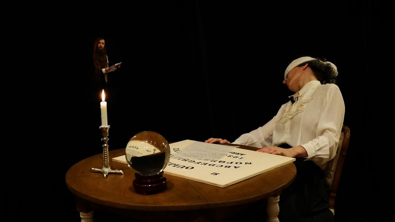 Chiara Fumai, The Book of Evil Spirits, 2015, still da video