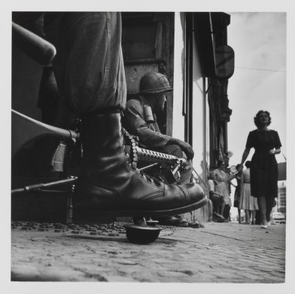 Don McCullin Near Checkpoint Charlie, Berlin 1961, Tate purchased 2012