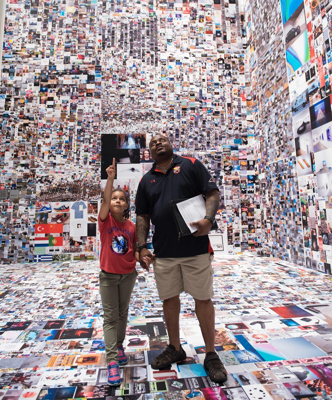 Evan Roth, Since You Were Born, MOCA Jacksonville, 2019 - Photo Jeremy Paterno