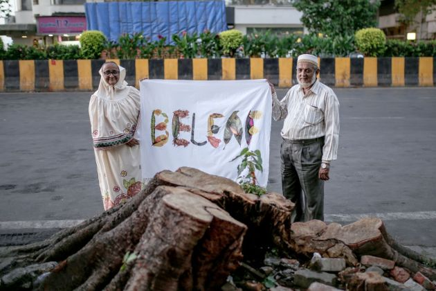 Filippo Minelli, Across the Border, BELEAF, Mumbai, INDIA , by Rashi Jain, performed by Enith Maria & Dheeraj Singh. Courtesy Manifesta12, Manifesta Foundation