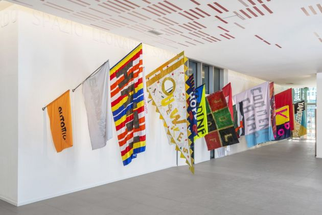 Filippo Minelli. Across the Border. Installation view at Spazio Leonardo, Milano 2019. Photo credits Cosimo Filippini. Courtesy Manifesta12, Manifesta Foundation