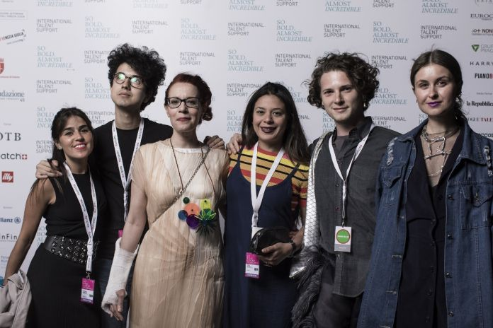 Finalists with Barbara Franchin, courtesy International Talent Support